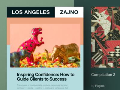 Zajno Newsletter #5: Time to talk about clients