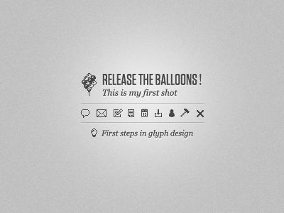 First glyphs glyph edit write calendar hammer close download discussion balloon