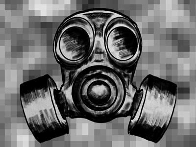 Gas mask mask gas illustration