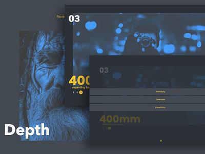 Expanding Bar Navigation Concept free demo navigation menu javascript css html