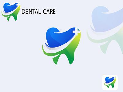 Dental logo app vector logo design branding illustration icon golden ratio golden dental dental logo 3d