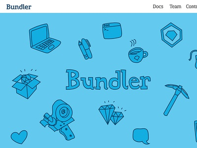 bundler.io redesign web design illustration