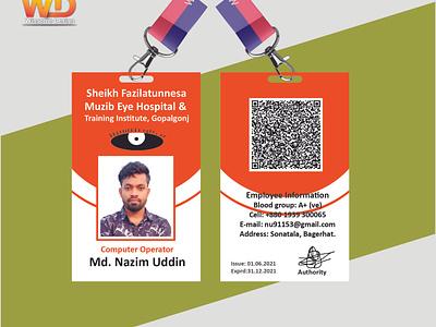 Employee id card design template employee id card nazim uddin idcard nazimuddin id card design professional id card employee identity card