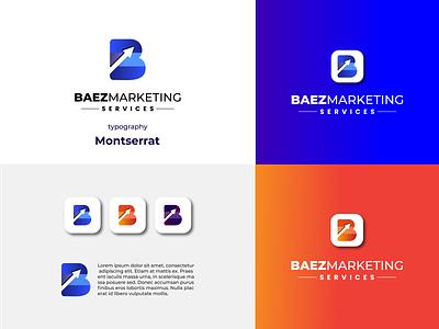 Modern logo | Logo design | Marketing logo App icon blogo flat 2d 3d creative unique minimal company modern marketing app creative logo design graphic design icon vector ui logo illustration branding
