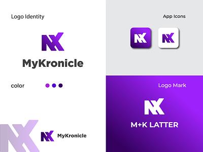 Branding Logo Design | M+L latter logo art brandidentity typography latter web minimal flat 3d motion graphics animation ux vector ui logo illustration icon graphic design design branding app
