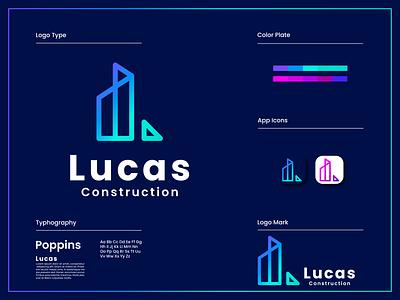 Company Logo Branding Design | Modern Trendy typography art web realestate flat minimal modern motion graphics 3d animation ux vector ui logo illustration icon graphic design design branding app