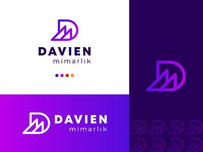 Modern logo | Logo design | Architecture Company logo web creative modern flat minimal architecture marketing motion graphics 3d animation ux vector ui logo illustration icon graphic design design branding app
