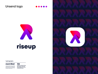 R latter logo design | Modern branding logo design ideas color rlatter web modern flat minimal motion graphics 3d animation ux ui vector logo illustration icon graphic design design branding app