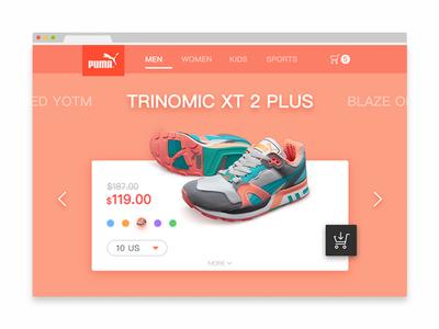 PUMA WEB DESIGN