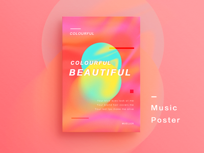 Music Poster 02 🎵《Colourful》