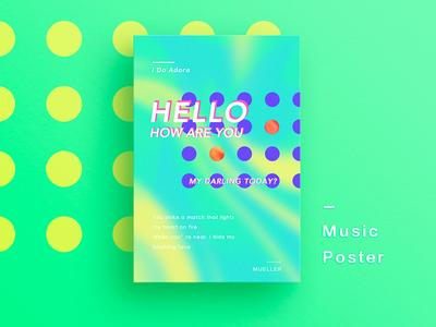 Music Poster 03 🎵《I Do Adore》