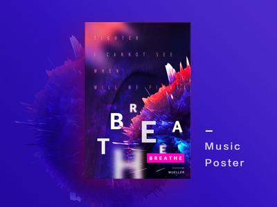Music Poster 04 🎵《Breathe》