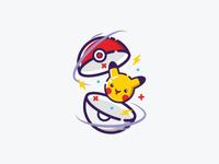 Pika-pi, Pikachu! #hellodribbble