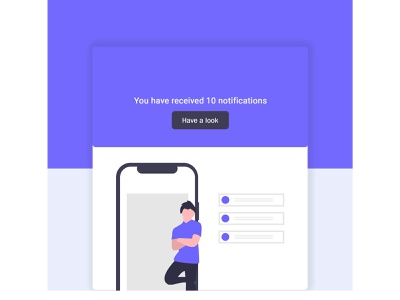 Notifications - Daily UI :: 049