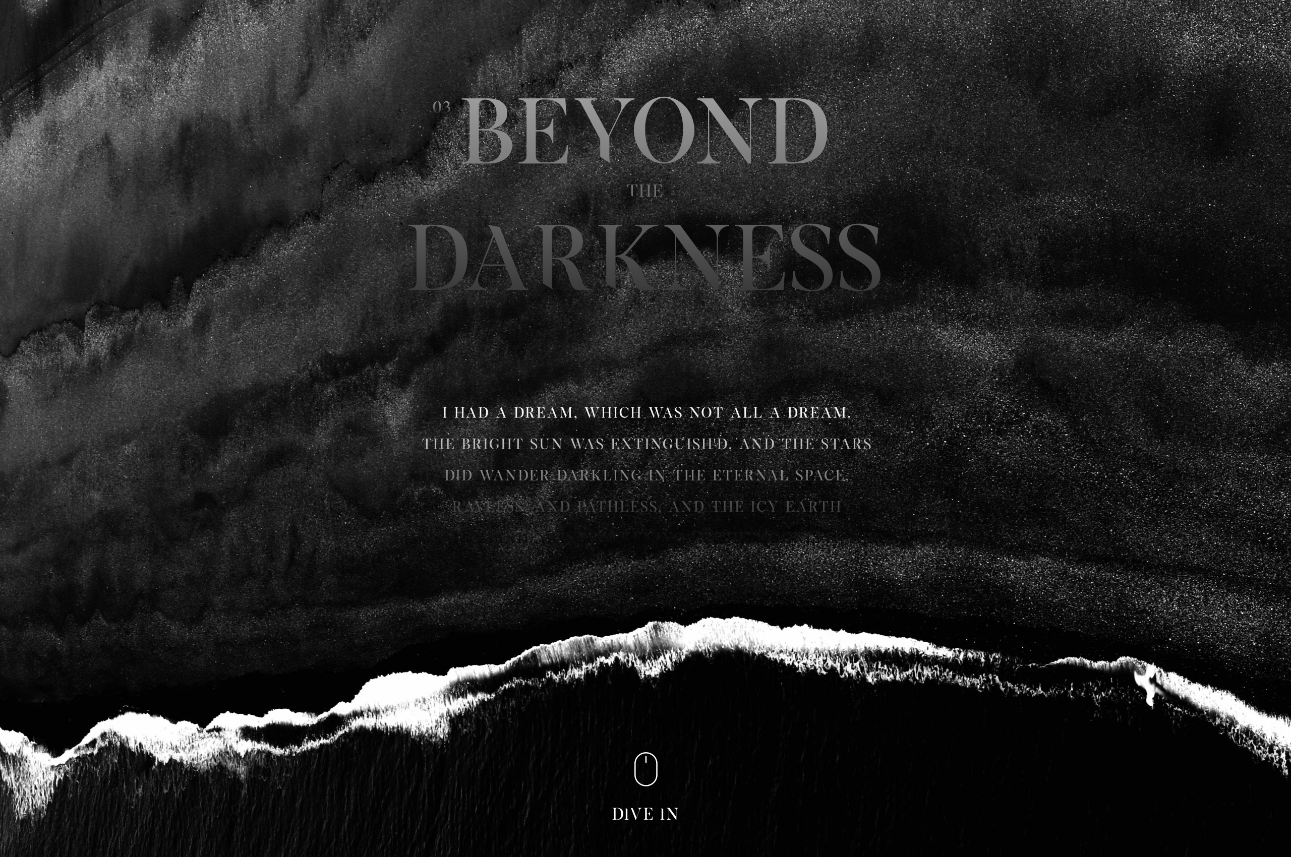 Beyond the darkness 2x