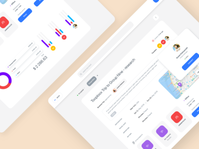 Business Trip Managment App