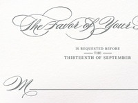 RSVP for a Wedding Invitation
