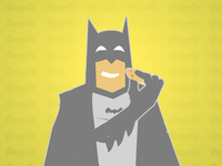 Batman with Cookie