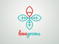 Love Grows Logo