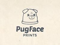 Pug Face Prints Rebranding