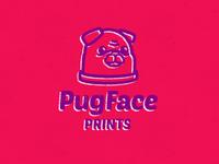 Pug Face Prints Color Update