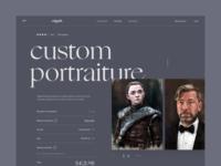 Product page exploration #2 museum of art elegant font illustration figma artwork ecommerce design product page landing page ecommerce