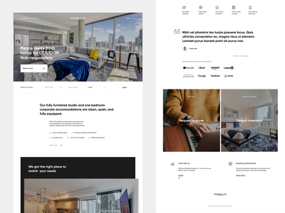 ModernLuxe Condos - new homepage luxurious modern clean homepage apartments rental properties real estate luxury