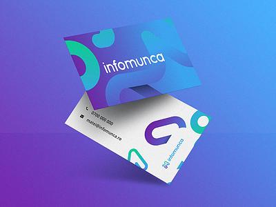 infomunca.ro biz cards print business card