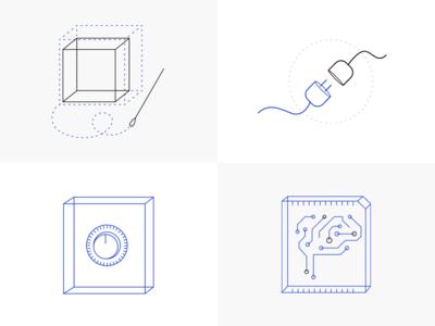 Logicluster illustrations