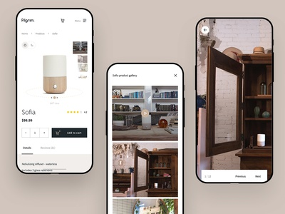 Pilgrim - product image gallery