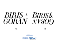 BirisGoran logo exploration