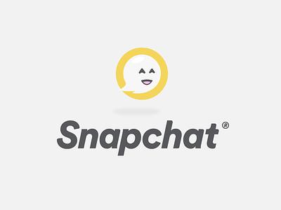 Snapchat Logo logo mark typography ghost character icon design logo rebrand branding snapchat