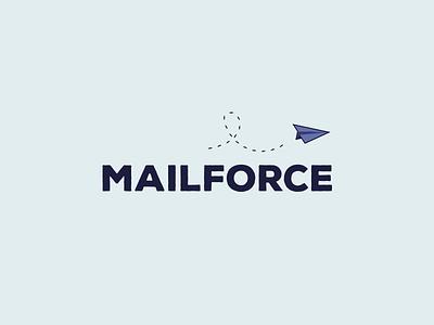 Mailforce graphic symbol brand corporate identity icon illustration branding design logo
