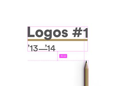 Logos 2014 art vector illustration icon behance branding design logo