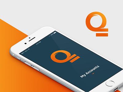 Qixpay Branding visual graphic symbol icon tablet device mobile ux design logo branding