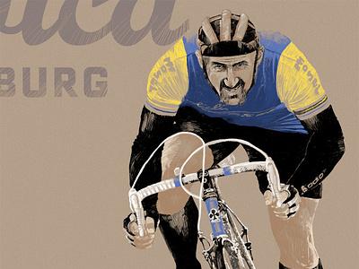 Cycler design hand made color black book blue wacom tablet handmade paper digital ink letters illustration