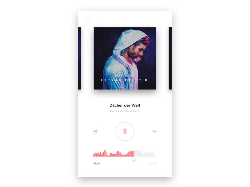 #009 DailyUI / Music Player