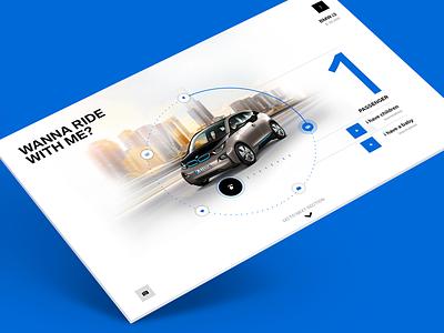 BMW Need Analyzer clean bmw configuration user interface ui website