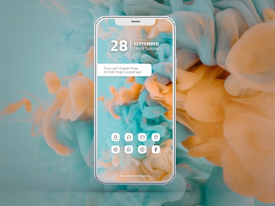 Dribbble Weekly Warm-Up   Phone Background interface uiux iphone ui dribbbleweeklywarmup dribbblechallenge challenge graphic design dribbble design