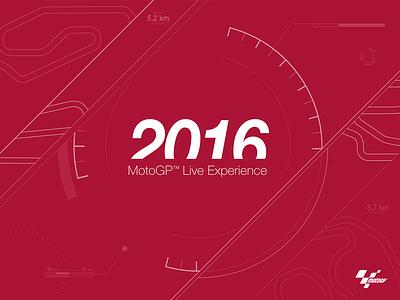 Splash screen for MotoGP 2016 App ui motogp splash