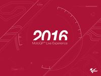 Splash screen for MotoGP 2016 App