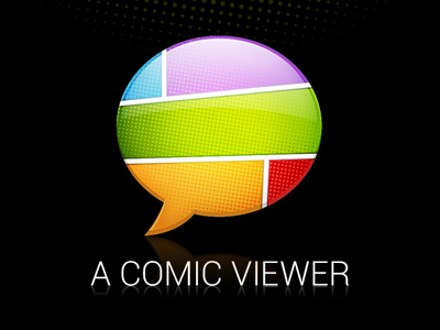 A Comic Viewer logo comic icon app