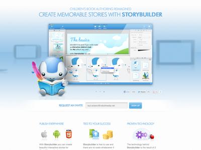 Storybuilder builder landing app