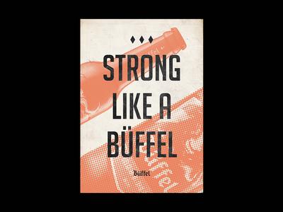 Buffel Beer Poster