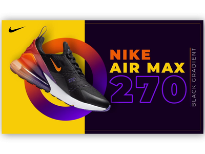Nike Air Max motion poster motion design shoe nike tutorial typography ux branding ui after effects motion gif animation