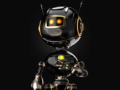 Humanoid Robot Pose illustraion character design robot humanoid robot 3d