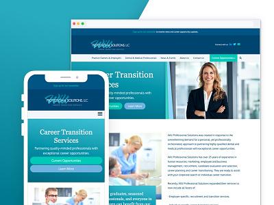 Wilt Professional Solutions brand exporation design ux web