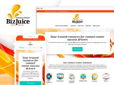 BizJuice Website Design & Development logo branding ux web design