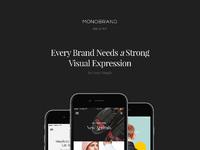 Monobrand ios presentation