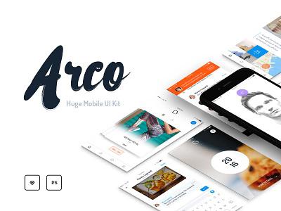 Arco Mobile UI Kit ui kit mobile